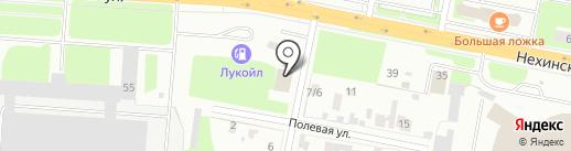 Hot glass на карте Великого Новгорода