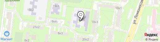Адаптированная школа-интернат №4 на карте Великого Новгорода
