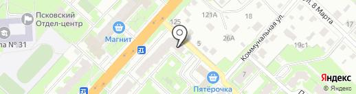 Винный погребок на карте Великого Новгорода