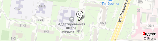 Родной Дом на карте Великого Новгорода
