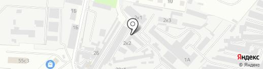 Маина на карте Великого Новгорода