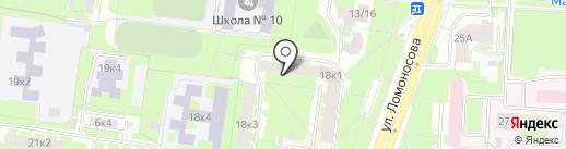 Григоровский отдел-центр по работе с населением по месту жительства на карте Великого Новгорода