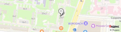 Dariano на карте Великого Новгорода