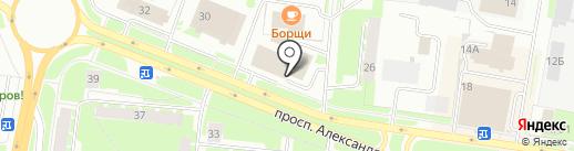 АРКУС на карте Великого Новгорода