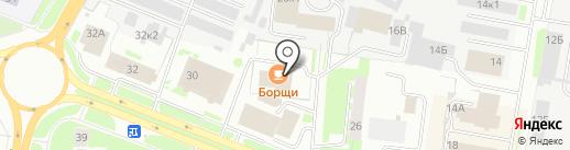 SUNRISE lounge bar на карте Великого Новгорода