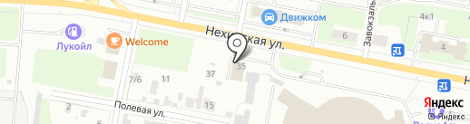 РОЛС на карте Великого Новгорода