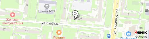Нужная вещь на карте Великого Новгорода