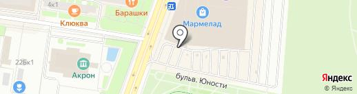 Мастер-Nail на карте Великого Новгорода