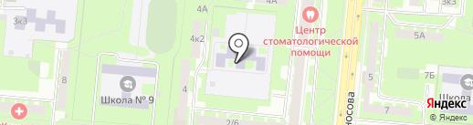 Детский сад №53, Солнышко на карте Великого Новгорода