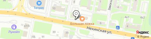 Новгородские системы безопасности на карте Великого Новгорода