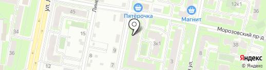 Новспецдеталь на карте Великого Новгорода