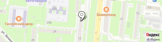 Почтовое отделение №23 на карте Великого Новгорода