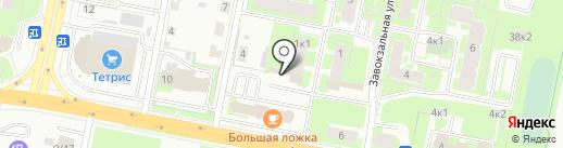 Нехинское, ТСЖ на карте Великого Новгорода