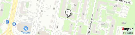 Гардероб53 на карте Великого Новгорода