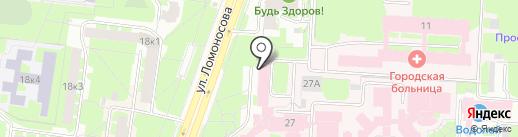 МедАЭГгрупп на карте Великого Новгорода