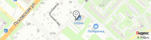 Школа танцев для взрослых на карте Великого Новгорода
