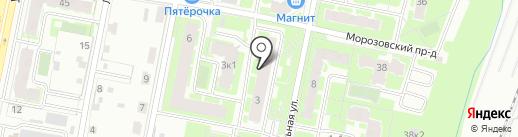 Компания пассажирских перевозок на карте Великого Новгорода