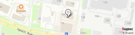 Регистратор на карте Великого Новгорода