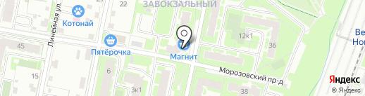 Comepay на карте Великого Новгорода