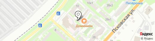 Garage на карте Великого Новгорода