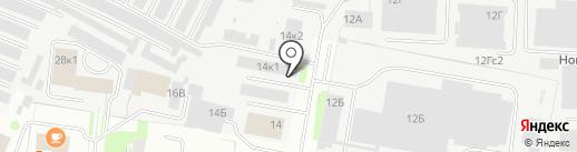 DRIVER на карте Великого Новгорода