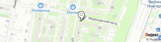 Magnetic Nail Factory на карте Великого Новгорода