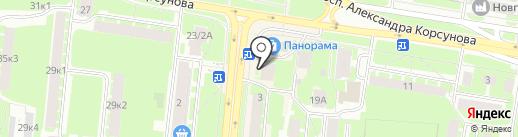 Евросеть на карте Великого Новгорода