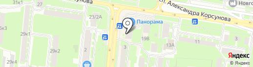 Смета-Консалт на карте Великого Новгорода