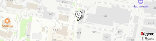 Банкомат, АК Барс банк, ПАО на карте Великого Новгорода