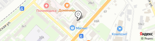 Примэль на карте Великого Новгорода