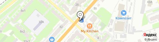 НАТАЛИ на карте Великого Новгорода