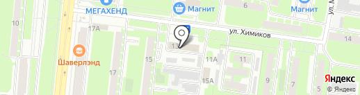 РегионЛесТорг на карте Великого Новгорода