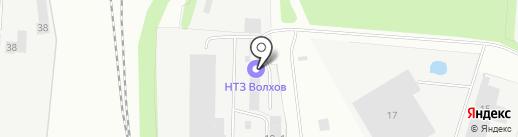 Невский трансформаторный завод на карте Великого Новгорода