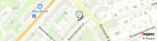 Магазин товаров из Финляндии на карте Великого Новгорода