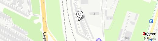 Центр тонирования автомобилей на Сырковском шоссе на карте Великого Новгорода