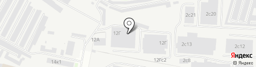 Евроблок на карте Великого Новгорода