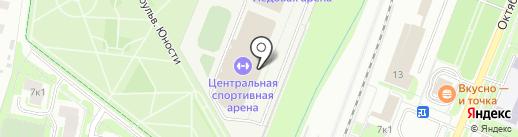 Бассейн, ДЮСШ Спорт-индустрия на карте Великого Новгорода