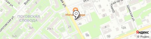 L.E.D Night club на карте Великого Новгорода