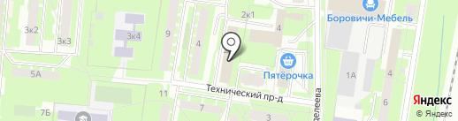 Remake на карте Великого Новгорода