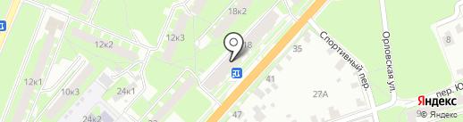 ИМПУЛЬС на карте Великого Новгорода