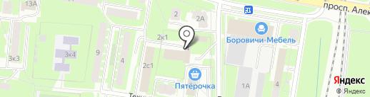 Мировые судьи г. Великого Новгорода на карте Великого Новгорода