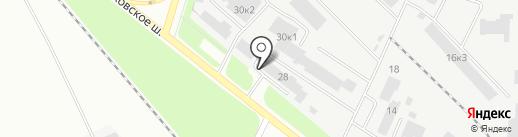 Стройтех53 на карте Великого Новгорода