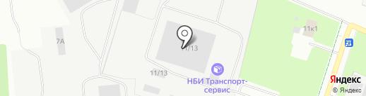 НовАК на карте Великого Новгорода