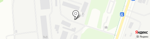 Гофра-Н на карте Великого Новгорода