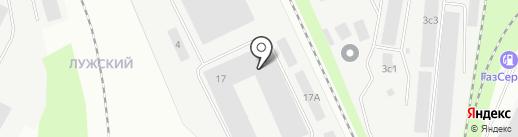 ПромКонструкция на карте Великого Новгорода