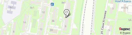 Миграв на карте Великого Новгорода