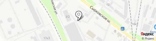 Волховтранс на карте Великого Новгорода
