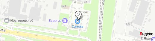 автостудия complex на карте Великого Новгорода