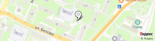 Продуктовый магазин на карте Великого Новгорода