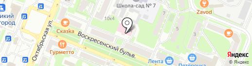 СтройИндустрия на карте Великого Новгорода